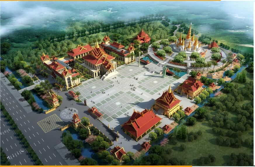 欧宝体育入口佛学院德宏分院及佛教文化交流中心